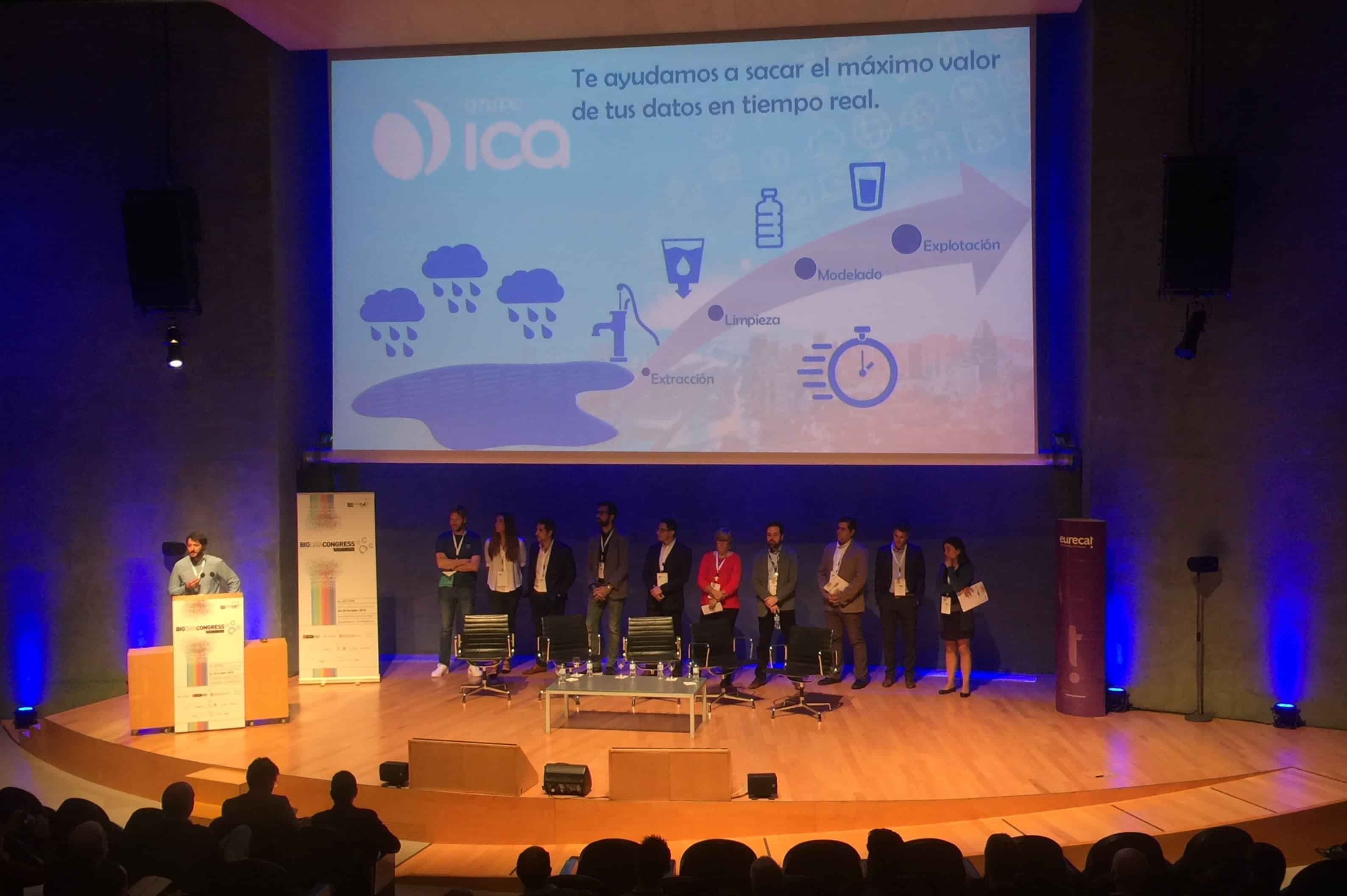 Grupo ICA, patrocinador bronce de Big Data Congress Barcelona 2018